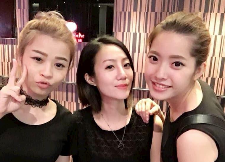 可愛い台湾人女性達。