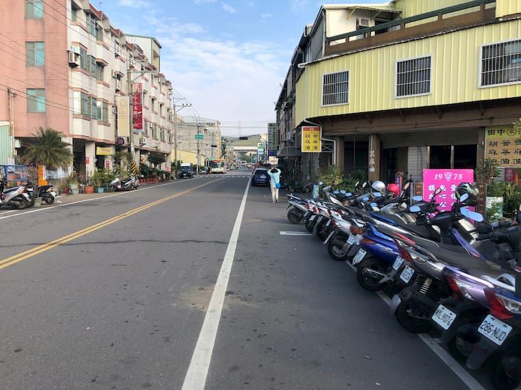 清水駅からバス停までの道のり