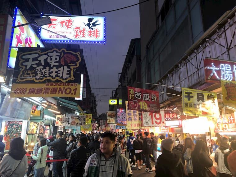 台中夜市「一中街」